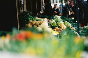 regionale Produkte am Bauernmarkt